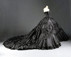 Gorgeously Gothic Galliano Wedding Dresses | Handmade Victorian, Steampunk, Gothic Wedding Dresses