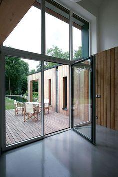 Ma maison en habit vert - Une maison passive maxi tendance - CôtéMaison.fr
