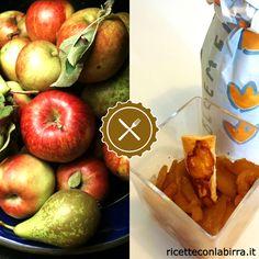 Composta di mele, pere e #Bloemenbier - Ricette con la #Birra