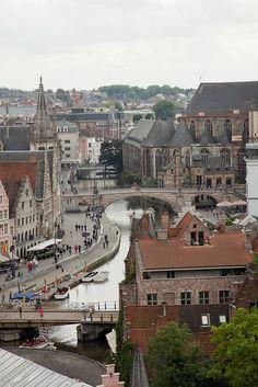 Gante, Belgium | Family Vacation Ideas