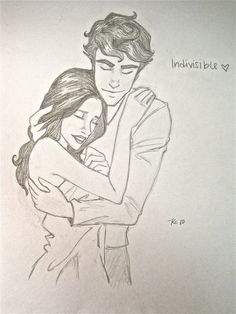Love fan art of Finnick and Annie<3