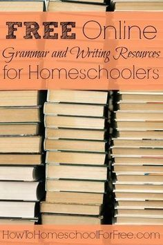 Teach grammar and writing skills for FREE with these amazing online resources! Teach grammar and writing skills for FREE with these amazing online resources! Writing Curriculum, Writing Resources, Homeschool Curriculum, Writing Skills, Homeschooling Resources, Catholic Homeschooling, Writing Courses, Teacher Resources, Teaching Grammar