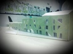 Architectural model, composition, Project
