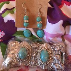 Earrings & Bracelet set Silver Earrings & Bracelet set Isbel Jewelry Bracelets