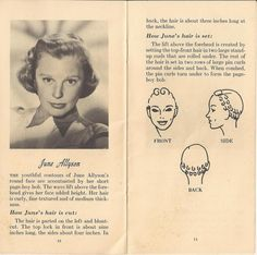 Lisa Freemont Pages: Setting Pattern Fun: June Allyson