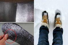 Micsoda trükk! Próbáld ki, hogy ne fázzon a hidegben a lábad!