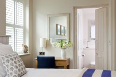 A bedroom in one of our luxury apartments