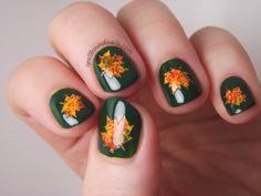 #NailArt d'automne #vernis