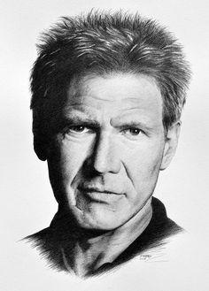 Harrison Ford by Paul Brady