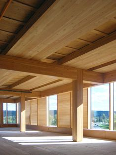Image 3 of 12 from gallery of Wood Innovation Design Centre / Michael Green Architecture. Courtesy of Michael Green Architecture Detail Architecture, Timber Architecture, Timber Buildings, Sustainable Architecture, Sustainable Building Materials, Office Buildings, Architecture Office, Innovation Design, Cedar Cladding