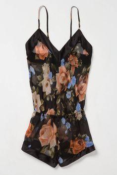 I need! ;) #sexypjs soooo pretty anthropologie | damask rose romper $110