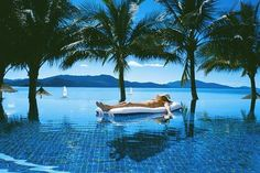 #pool at the Hamilton Island Beach Club in the Great Barrier Reef Islands