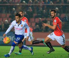 Liga 2015-16 2ª div. 18ª Jornada G.Tarragona 3-1 Real Zaragoza