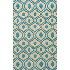 Momeni Bliss Blue Waves Hand-Tufted Rug X (Modern Waves Blue Hand-Tufted Rug x Size x (Polyester, Abstract) Polyester Rugs, Transitional Decor, Modern Area Rugs, Hand Tufted Rugs, Carpet Runner, Rug Making, Bedding Shop, Runes, Rug Size