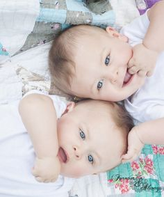 I want to have Twins! :) my grandma was a twin so it could happen for me! Lord, please let it!