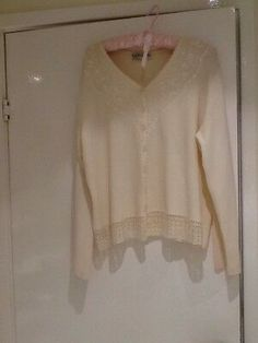 BNWT M/&S Collection Soft White Boxy Fine Knit Jumper Sweater Size XL
