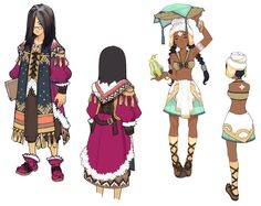 ✧ #characterconcepts ✧ Character Design - Characters & Art - Lime Odyssey: The Chronicles of Orta