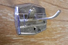 vintage 1950-60 robe or towel hooks chrome NOS by BandCEmporium
