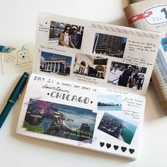 101 Awesome Bullet Journal Ideas (With Pictures!) – Page 04 – Wordy Fox 101 Awesome Bullet Journal Ideas (With Pictures!) – Page 04 – Wordy Fox Album Journal, Scrapbook Journal, Photo Journal, Travel Scrapbook, Journal Pages, Journal Ideas, Journals, School Scrapbook, Notebooks