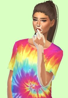 sims4 only — pleazzz: Hair / Skin / Vitiligo overlay /...
