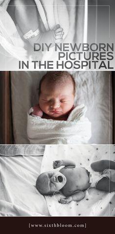 DIY Newborn pictures in the hospital, newborn pictures, fresh 48 pictures, DIY fresh 48, fresh 48 shot list #newbornphotography #fresh48 #newbornhospitalpictures #photographytips #newbornbaby