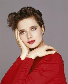 Isabella Rossellini (Isabella Fiorella Elettra Giovanna Rossellini) (born in Rome (Italy) on June 18, 1952)