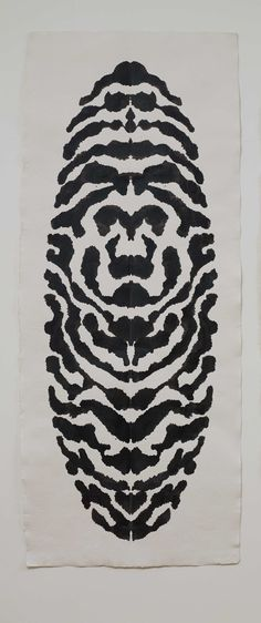 Peter Randall-Page, 'Rorschach Leaf I', Copyright the artist. Peter Randall-Page: Works on Paper: 3 December 2016 - 12 February 2017 Peter Randall Page, Steve White, City Art, Animal Print Rug, Centre, February, Art Gallery, Paper, Artist