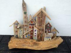 Drivtømmer / driftwood / glass