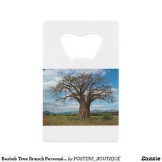 Baobab Tree Branch Personalize Destiny Destiny'S Keychain Bottle Opener