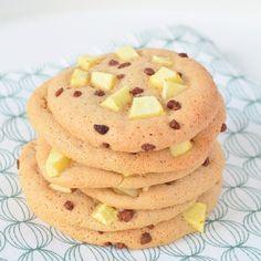 Eierkoeken zijn best neutraal van smaak, een ideale basis voor heel veel smaak combinaties. Deze appel-kaneel eierkoeken zijn daar een goed voorbeeld van!