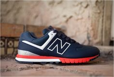 New Balance 574 Revlite #TSAMFW #5 http://losperrosnobailan.blogspot.com/2013/04/these-shoes-are-made-for-walking-5.html?spref=tw