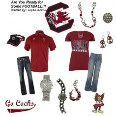 Couple gamecocks outfit