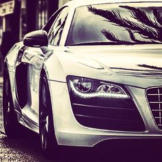 Close up and personal! # Audi #R8