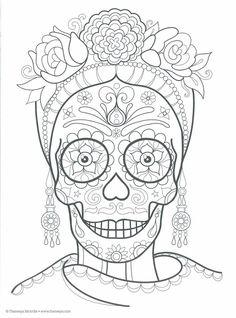 Dibujos-para-colorear-el-día-de-los-muertos-53.jpg (711×960)