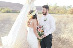 #BigDay #weddings #Boho #realweddings    Sophia and Alex's Bohemian Elopement