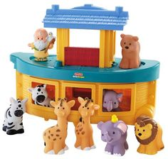 For 1st birthday? Amazon.com: Fisher-Price Little People Noah's Ark: Toys  Games