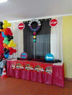 Festa de aniversário, tema cars, do Rodrigo que festejou 7 anos. Reserve a sua festa festa antes que a data esteja ocupada.