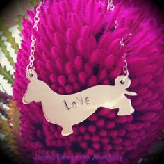 Sausage dog necklace