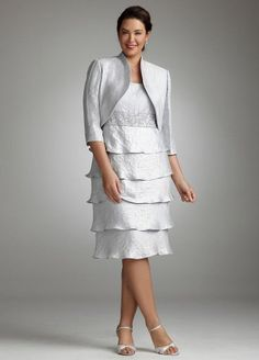 Plus Size Two Piece Shimmer Jacket Dress with Tiered Skirt Platinum David's Bridal,http://www.amazon.com/dp/B0085BMG4O/ref=cm_sw_r_pi_dp_LnQFsb0BP7DHMEM9