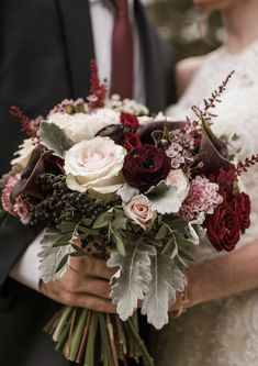 Blush and Burgundy Bridal Bouquet for Birmingham, Alabama Ba.- Blush and Burgundy Bridal Bouquet for Birmingham, Alabama Barn Wedding - Hand Bouquet Wedding, Winter Bridal Bouquets, Winter Bouquet, Hand Tied Bouquet, Winter Wedding Flowers, Bride Bouquets, Bridal Flowers, Burgundy Wedding Flowers, Flower Bouquets
