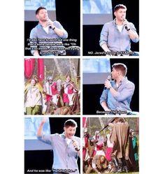 Lol i love supernatural! Jensen Ackles, Sammy Supernatural, Supernatural Quotes, Web Comic, Emmanuelle Vaugier, Cw Series, Winchester Boys, Destiel, Superwholock