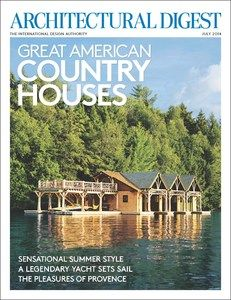 Adirondacks - Architectural Digest - Cover - Great American Country Houses