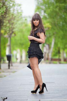 LBD 5-5-2014  Vestido: Mango Zapatos: Zara (old) Clutch: Libe Llule Collar: Con Emoción Complementos