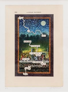Tom Phillips RA | A HUMUMENT P326: OPERA | Summer Exhibition Explorer