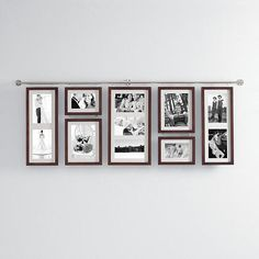 hall gallery frame set - espresso