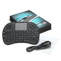 2.4GHz Keyboard I8 Air Mouse Remote Control Touchpad Of Android TV BOX USA stock #Unbranded
