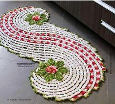 Crochet pour la maison - Tapis au crochet - Accessoires pour la… - Le blog de monde-creatif
