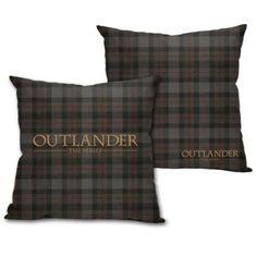 Outlander Tartan Throw Pillow