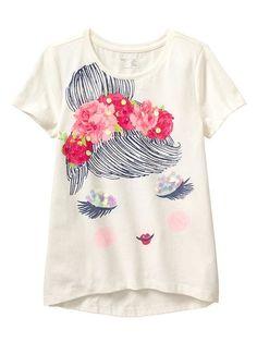 Tall Girl Fashion, Girls Fashion Clothes, Kids Fashion, Kids Outfits Girls, Girl Outfits, Paint Shirts, T Shirt Painting, Tee Shirt Designs, Girls Tees