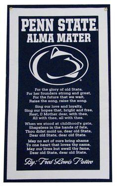 Penn State Alma Mater banner